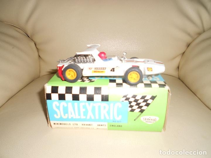 Scalextric: COCHE DE SCALEXTRIC Exi . Sigma blanco. Ref. C-47 CON CAJA ORIGINAL - Foto 6 - 217017813