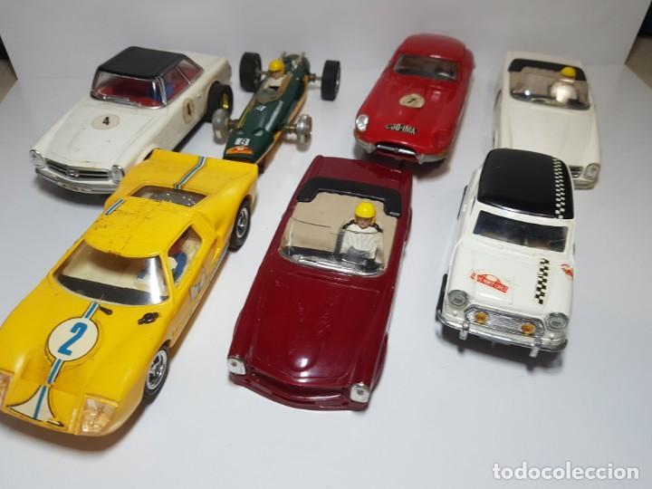 ESTUPENDO LOTE EXIN IDEAL RESTAURACION (Juguetes - Slot Cars - Scalextric Exin)