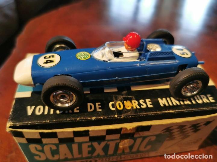 ANTIGUO SCALEXTRIC MECCANO C/73 PORSCHE MADE IN ENGLAND DE TRI-ANG MADE IN FRANCE (Juguetes - Slot Cars - Scalextric Exin)
