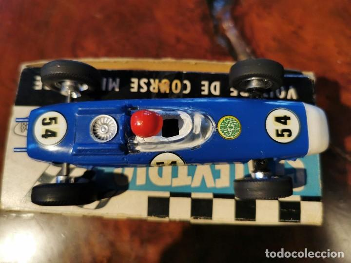 Scalextric: ANTIGUO SCALEXTRIC MECCANO C/73 PORSCHE MADE IN ENGLAND DE TRI-ANG MADE IN FRANCE - Foto 2 - 217929545