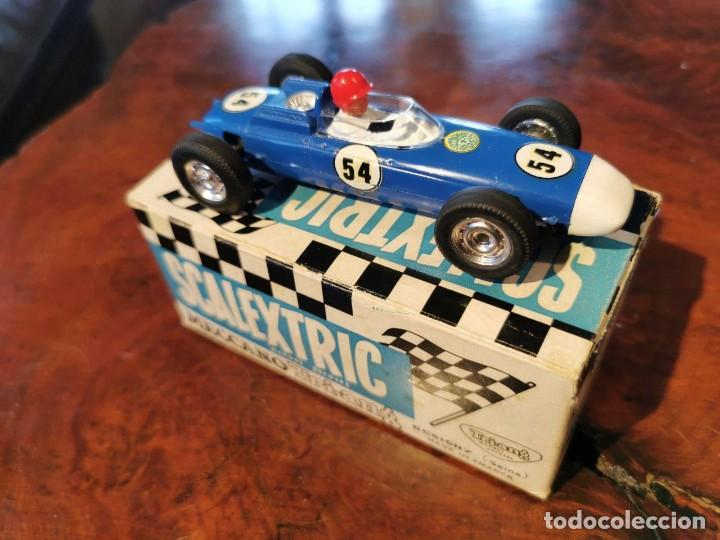 Scalextric: ANTIGUO SCALEXTRIC MECCANO C/73 PORSCHE MADE IN ENGLAND DE TRI-ANG MADE IN FRANCE - Foto 3 - 217929545