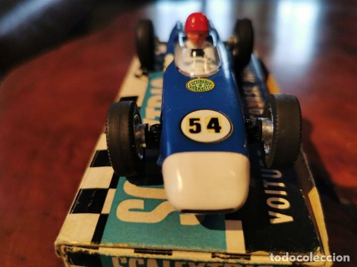 Scalextric: ANTIGUO SCALEXTRIC MECCANO C/73 PORSCHE MADE IN ENGLAND DE TRI-ANG MADE IN FRANCE - Foto 4 - 217929545