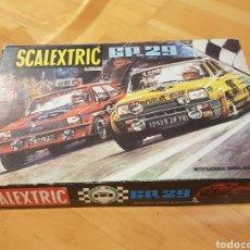 Scalextric: EXIN SCALEXTRIC CIRCUITO GP 29 COMPLETO CON 2 COCHES TAL CUAL FOTOS GRAN ESTADO. Lote 218158386