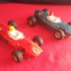 Scalextric: 2 COCHES SCALECTRIX TRIANG COOOER.TAL CUAL COMO SE VE EN FOTOS. Lote 218487848