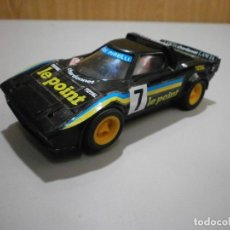 Scalextric: SCALEXTRIC EXIN LANCIA STRATOS LE POINT NEGRO. Lote 219197220
