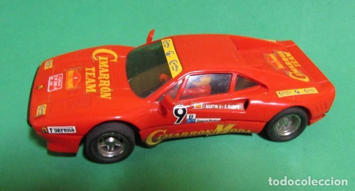 SCALEXTRIC FERRARI FERRARI GTO CIMARRON TEAM REF. 4075 FABRICADO EN ESPAÑA (Juguetes - Slot Cars - Scalextric Exin)