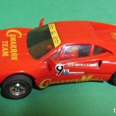 Scalextric: SCALEXTRIC FERRARI FERRARI GTO CIMARRON TEAM REF. 4075 FABRICADO EN ESPAÑA. Lote 219458635