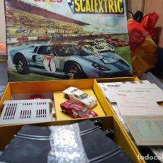 Scalextric: SCALEXTRIC GT-23 COMPLETO CON SUS COCHES FORD GT REF.C35 FUNCIONANDO. Lote 219513320