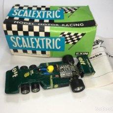 Scalextric: COCHE SCALEXTRIC TYRREL P-34 DE EXIN REF 4054. Lote 220297878