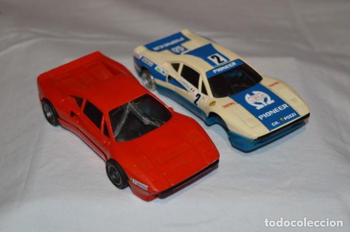 LOTE SLOT / 2 FERRARI GTO - SCALEXTRIC EXIN ORIGINAL - ¡MIRA FOTOS/DETALLES! (Juguetes - Slot Cars - Scalextric Exin)