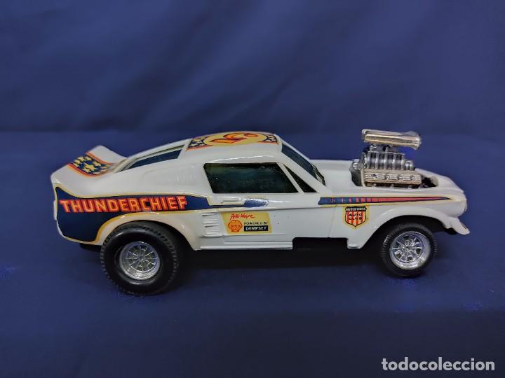 Scalextric: FORD MUSTANG DRAGSTER BLANCO, SCALEXTRIC REF 4049 - Foto 3 - 221454537
