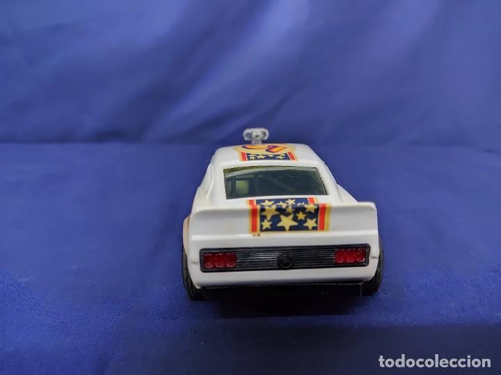 Scalextric: FORD MUSTANG DRAGSTER BLANCO, SCALEXTRIC REF 4049 - Foto 4 - 221454537