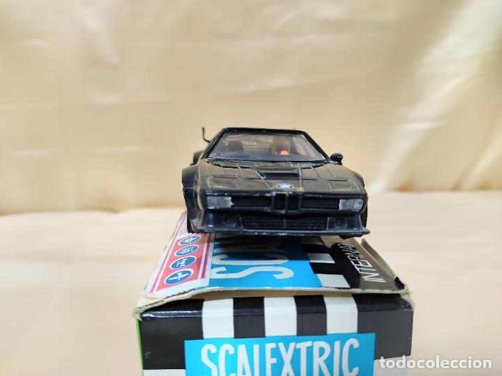 Scalextric: COCHE BMW M1 20 ANIVERSARIO EDICIÓN LIMITADA SCALEXTRIC CON CAJA - Foto 5 - 221454976