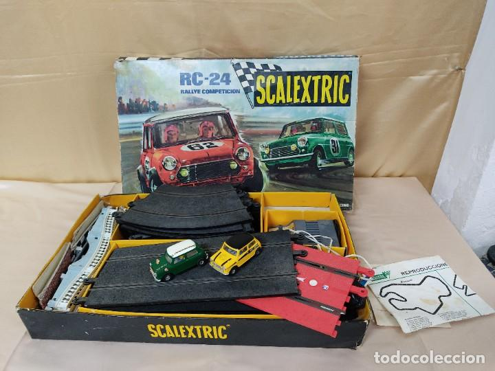 SCALEXTRIC RC-24. COMPLETO. (Juguetes - Slot Cars - Scalextric Exin)