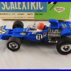 Scalextric: SCALEXTRIC TYRRELL - FORD FORM. 1 REF 4048 DE EXIN CON CAJA. Lote 221469078