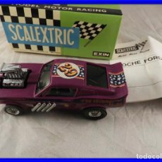 Scalextric: SCALEXTRIC FORD MUSTANG DRAGSTER REF. 4049 DE EXIN. Lote 221470203