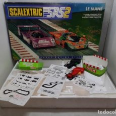Scalextric: SCALEXTRIC CAJA CIRCUITO SRS 2 LE MANS. Lote 221833236