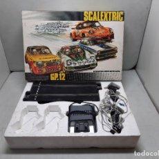Scalextric: SCALEXTRIC CAJA CIRCUITO GP.12. Lote 221924927