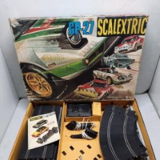 Scalextric: SCALEXTRIC CIRCUITO G.P 27 EXIN. Lote 222080030
