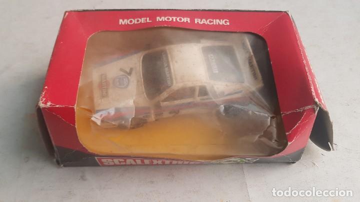 COCHE LANCIA RALLY 037 MARTINI REF. 4074 CON CAJA SCALEXTRIC EXIN (Juguetes - Slot Cars - Scalextric Exin)