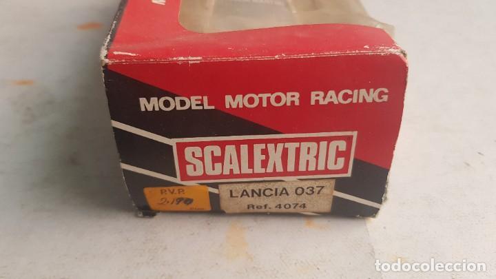 Scalextric: Coche LANCIA RALLY 037 Martini Ref. 4074 con CAJA Scalextric Exin - Foto 2 - 222099741