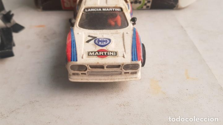 Scalextric: Coche LANCIA RALLY 037 Martini Ref. 4074 con CAJA Scalextric Exin - Foto 10 - 222099741