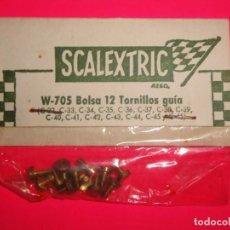 Scalextric: BOLSA TORNILLOS GUÍA SCALEXTRIC EXIN. Lote 222172900
