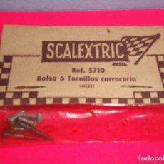 Scalextric: BOLSA TORNILLOS CARROCERÍA SCALEXTRIC EXIN. Lote 222172970