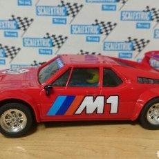 Scalextric: BMW ROJO PRIMERA SERIE SCALEXTRIC EXIN. Lote 222232623