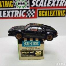 Scalextric: SCALEXTRIC BMW M1 20 ANIVERSARIO REF 4064 EXIN. Lote 222284207