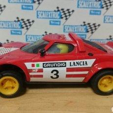 Scalextric: LANCIA STRATOS ROJO SEGUNDA SERIE SCALEXTRIC EXIN. Lote 222286051