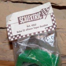 Scalextric: SCALEXTRIC EXIN - BOLSA 12 PLACAS SUPER PERALTE - REF. 4267 - NUEVA - SIN ABRIR. Lote 222589396