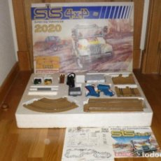 Scalextric: STS SCALEXTRIC 2020 4X4. COMPLETO. CON DOS COCHES JEEP. EXIN. PEGATINAS Y CALCAS SIN USAR. Lote 222696046