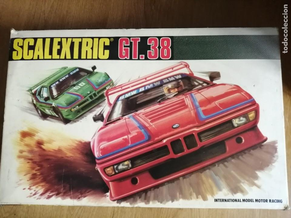 SCALEXTRIC GT 38 COMPLETO (Juguetes - Slot Cars - Scalextric Exin)