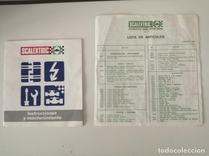 Scalextric: Scalextric GT 38 completo - Foto 24 - 222871048