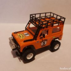 Scalextric: LAND ROVER STS NARANJA. Lote 223226963