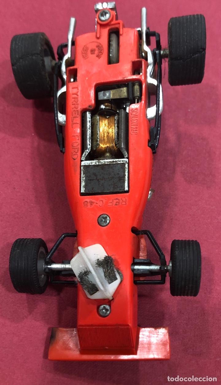 Scalextric: Antiguo coche de scalextric Ford Tyrrell. Ref. C 48 - Foto 8 - 223341853