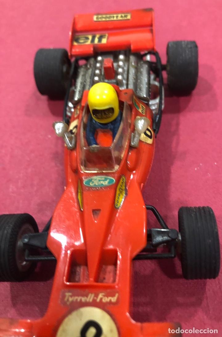 Scalextric: Antiguo coche de scalextric Ford Tyrrell. Ref. C 48 - Foto 11 - 223341853