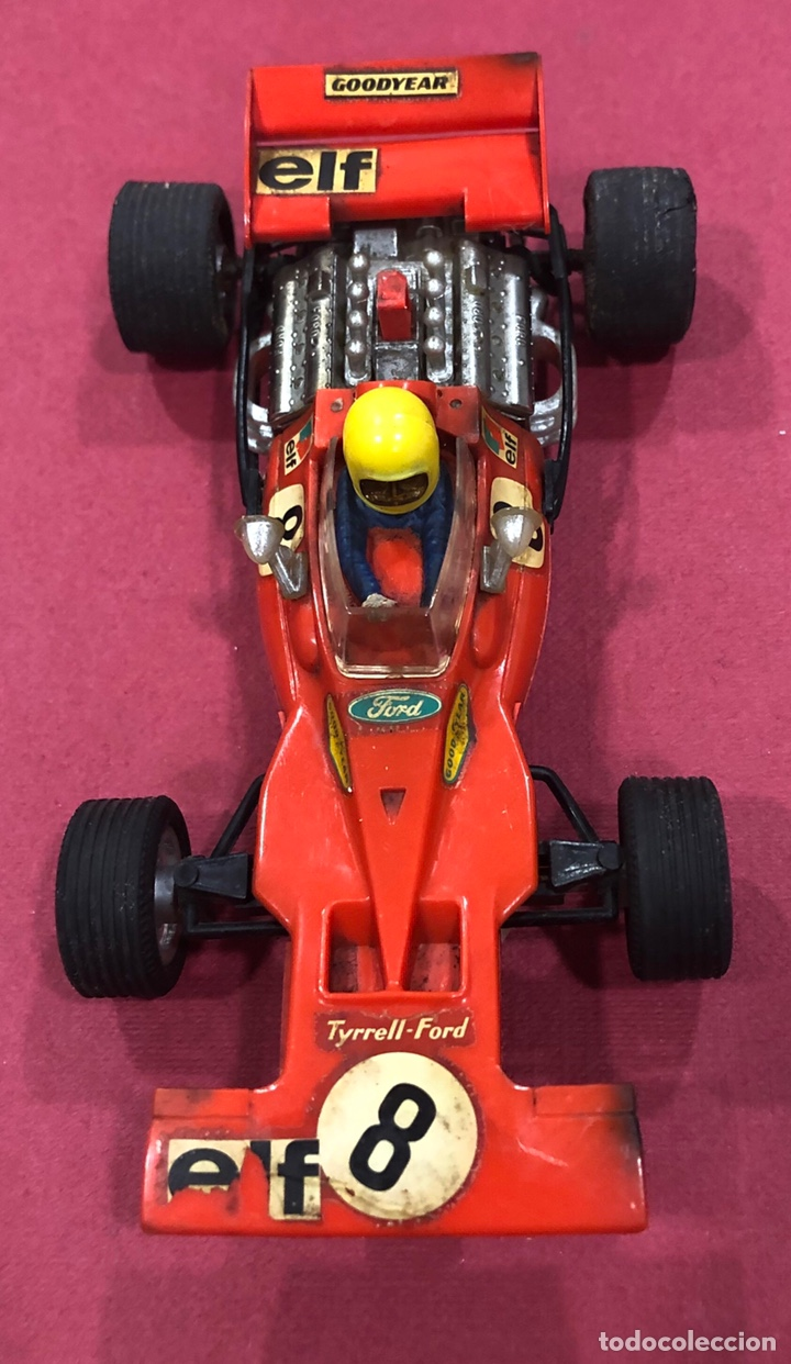 ANTIGUO COCHE DE SCALEXTRIC FORD TYRRELL. REF. C 48 (Juguetes - Slot Cars - Scalextric Exin)