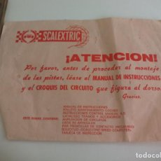 Scalextric: SCALEXTRIC, CIRCUITO S.R. 45. SOBRE VACIO.. Lote 223474287