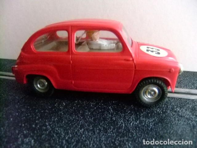 Scalextric: SCALEXTRIC TRI-ANG SEAT 600 ROJO PRIMERA SERIE fabricado en Espana - Foto 3 - 223742333