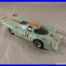 Scalextric: SCALEXTRIC PORCHE 917 REF. C46 DE EXIN AZULADO. Lote 224463623