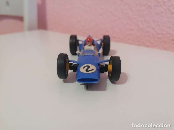 Scalextric: Scalextric tri ang made in England c 82 lotus azul claro - Foto 2 - 224580242