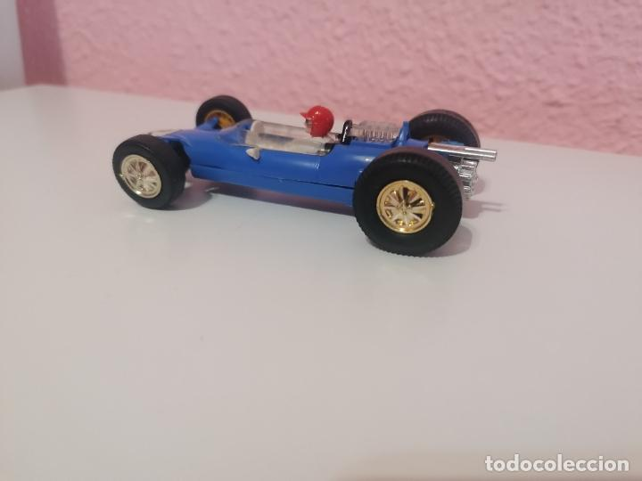 Scalextric: Scalextric tri ang made in England c 82 lotus azul claro - Foto 4 - 224580242