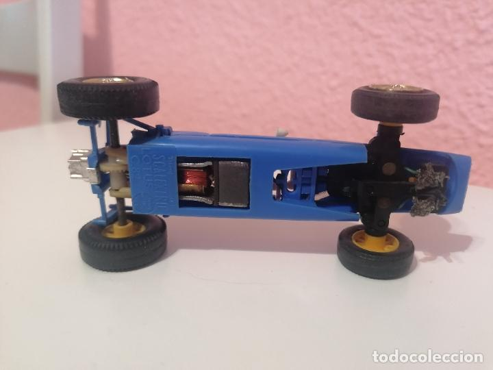 Scalextric: Scalextric tri ang made in England c 82 lotus azul claro - Foto 7 - 224580242