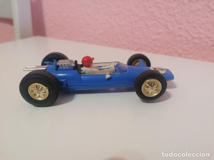 SCALEXTRIC TRI ANG MADE IN ENGLAND C 82 LOTUS AZUL CLARO (Juguetes - Slot Cars - Scalextric Exin)