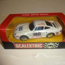 Scalextric: SCALEXTRIC. EXIN. PORSCHE 959 BLANCO. REF. 4084. Lote 224748015