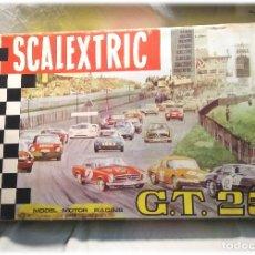 Scalextric: CIRCUITO SCALEXTRIC GT 25 CON 2 MERCEDES 250 SL SPORT, COMPLETO TODO ORIGINAL AÑO 1968. Lote 225125461