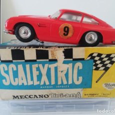 Scalextric: ASTON MARTIN DB4 GT C-68 MECCANO TRIANG 1964-1965. Lote 225764335