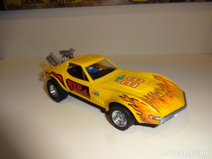 Scalextric: Scalextric. Exin. Chevrolet Corvette Amarillo. Ref. 4050 - Foto 2 - 225990132